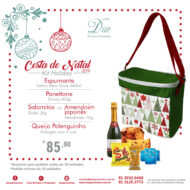 cesta de natal holiday