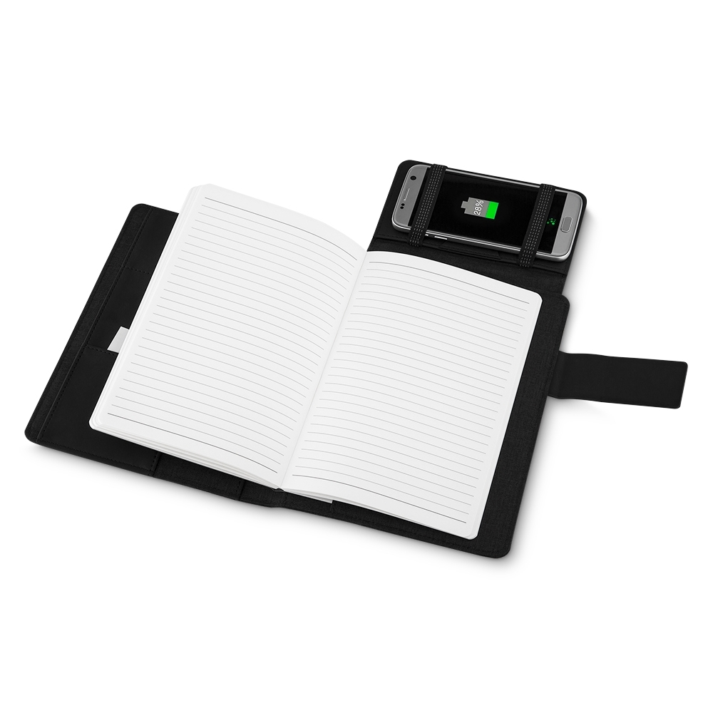 Caderno-Power Bank PRETO