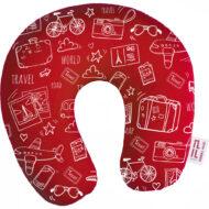 Layout almofada pescoço vermelha op2