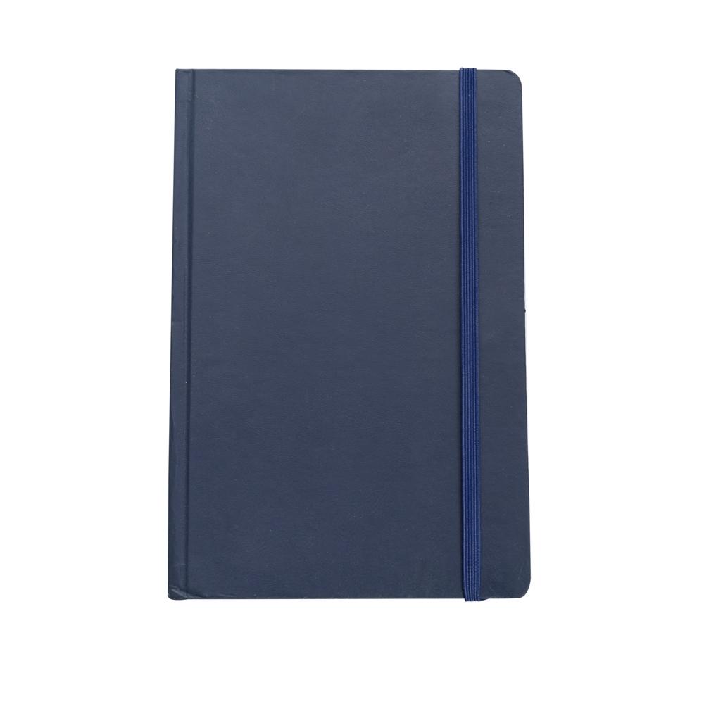 Caderneta tipo Moleskine AZUL