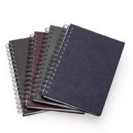 Caderno Pequeno de Couro Sintetico