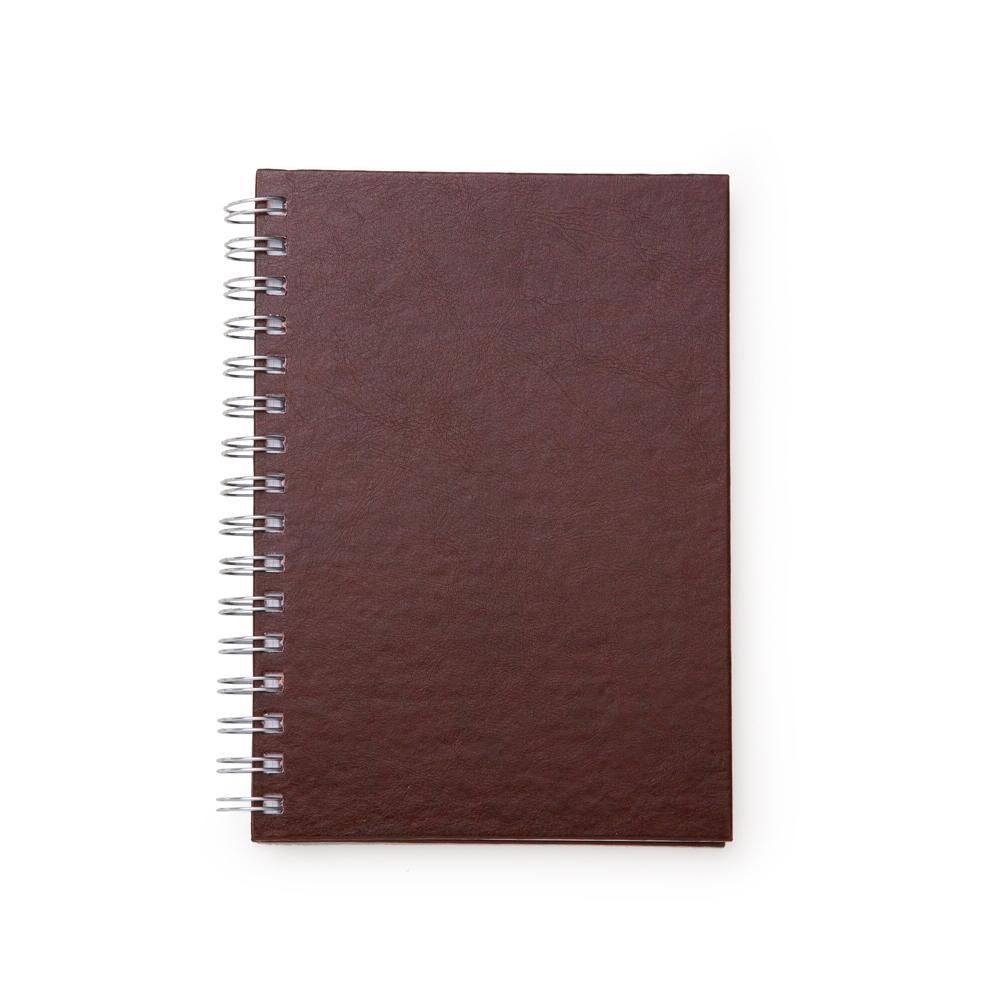 Caderno-Pequeno-de-Couro-Sintetico-MARROM