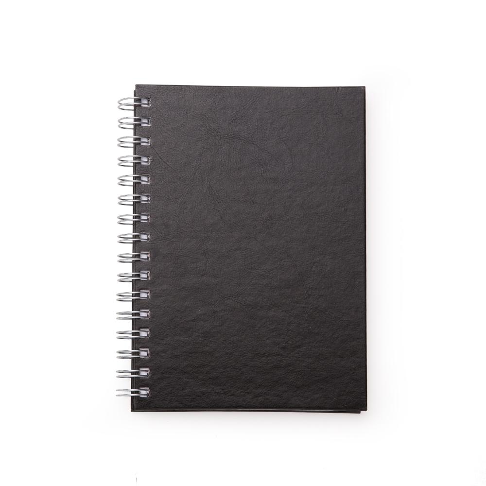 Caderno-Pequeno-de-Couro-Sintetico-PRETO