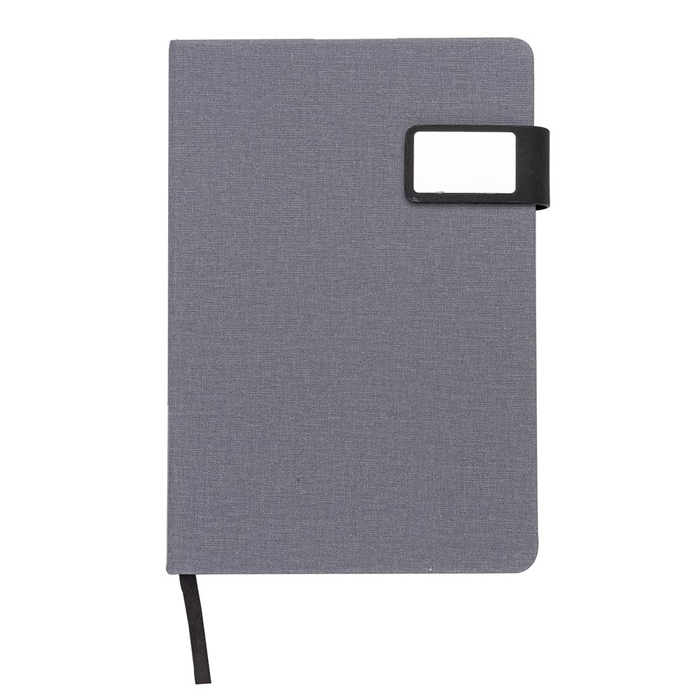 Caderno com Fecho Magnetico-..