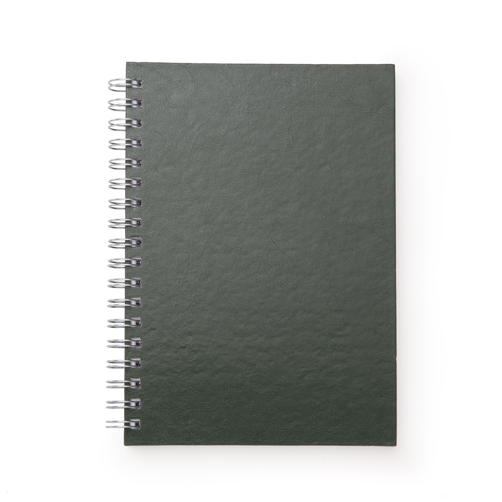 Caderno de Couro Sintetico VERDE