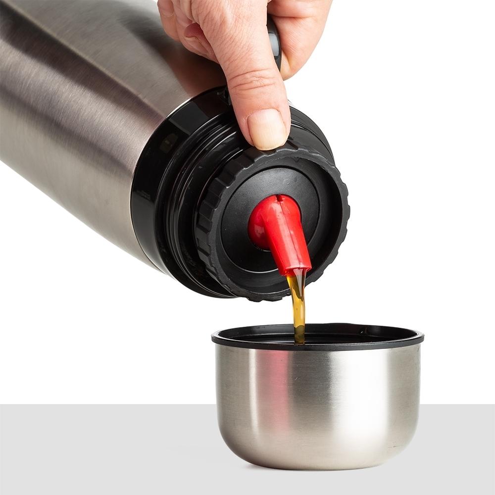 Garrafa Termica 1 Litro Inox